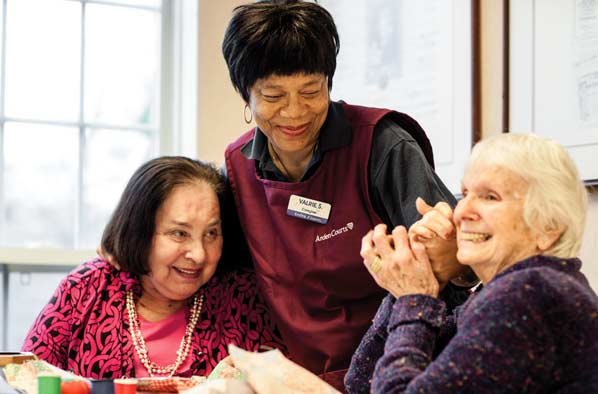 Residents at Arden Courts are encouraged to do as much for themselves as possible. Arden Courts provides success-oriented activities 10 hours every day tailored for all levels of dementia.